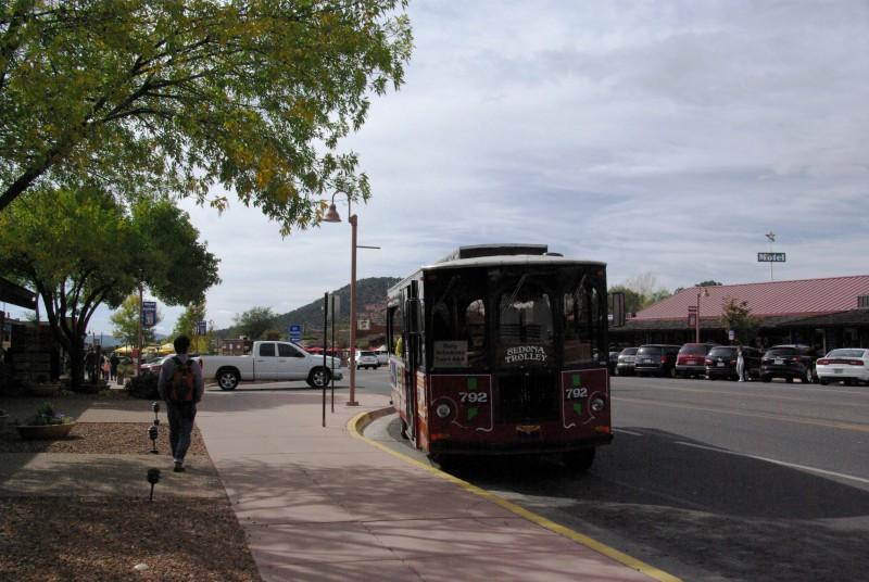 旅の空の下から -セドナ編⑲- トロリーバス観光