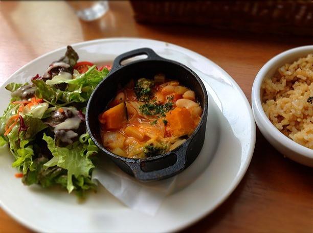 マクロビオテック料理が楽しめる チャヤマクロビオティクス・カフェ