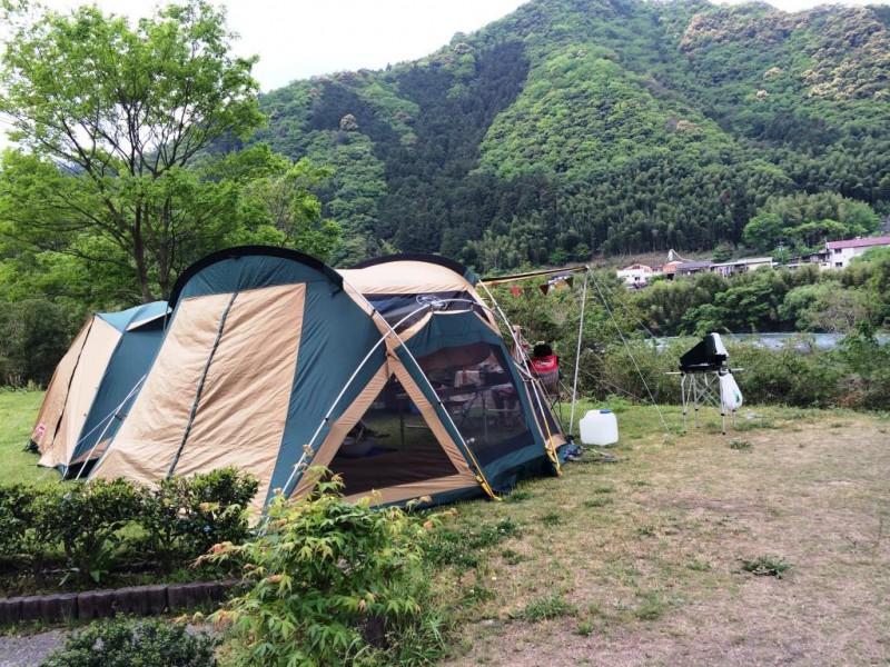 旅の空の下から -高知編 Vol.2- 四万十川 カヌー館のキャンプ場