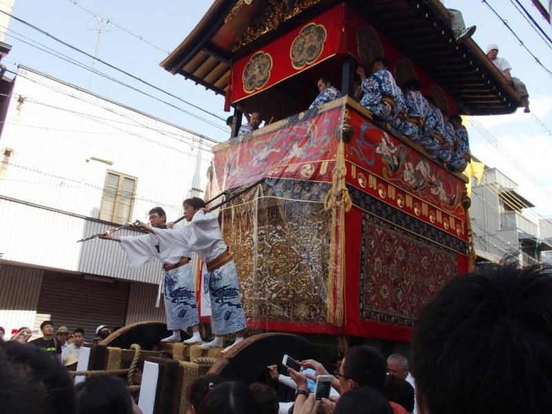 宿坊へ泊まろう! 京都への旅 Vol.2 祇園祭り 後祭りの引き回し