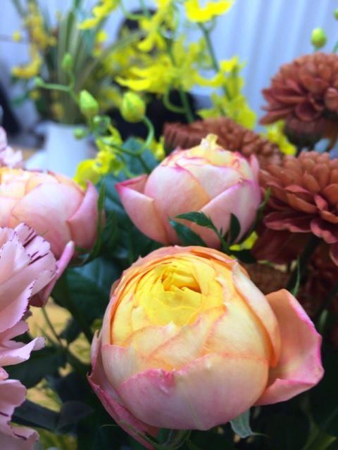 お花のある生活。お正月の飾りにオススメのお花