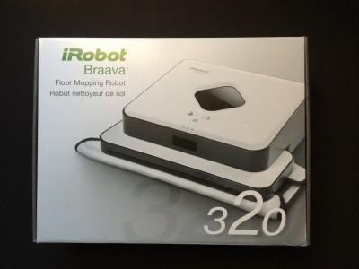 爆笑!お掃除ロボットくん iRobot Braava 320