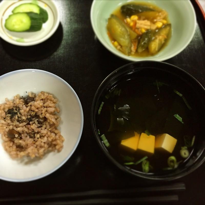 奈良 信貴山断食道場 今度は9日間だよ!-8日目-回復食が美味しい!
