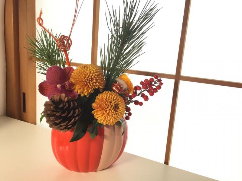 お正月の花飾り 東京で花材を買いたい人はまだ間に合う!急げ!