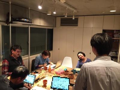 ものくろキャンプ開催報告:2月の東京グループレッスン!チーム江戸前