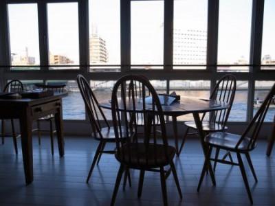 浅草 蔵前 リバーサイドにあるカフェ「シエロイリオ」