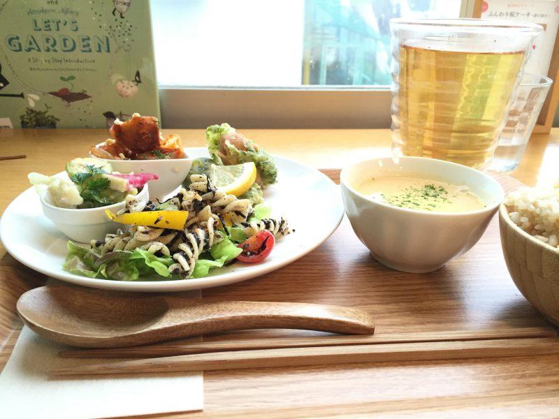 東京 青山で玄米菜食が食べられるカフェ「SINCERE GARDEN 」シンシア ガーデン