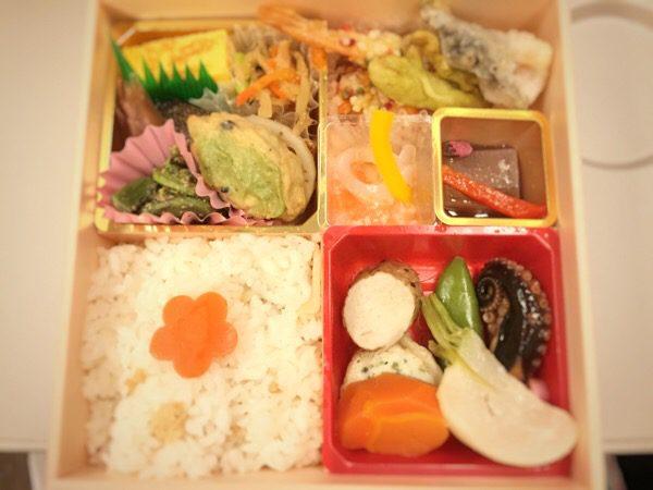 上野駅 駅弁:「春の彩」弁当 冬とは違った季節感ある弁当