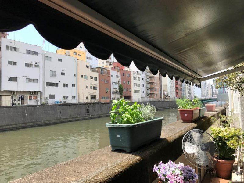 東京 浅草橋 秋葉原 「verde regalo ヴェルデ・レガーロ」神田川沿にコスパの高いランチが食べられるカフェがオープン神田川沿いにある