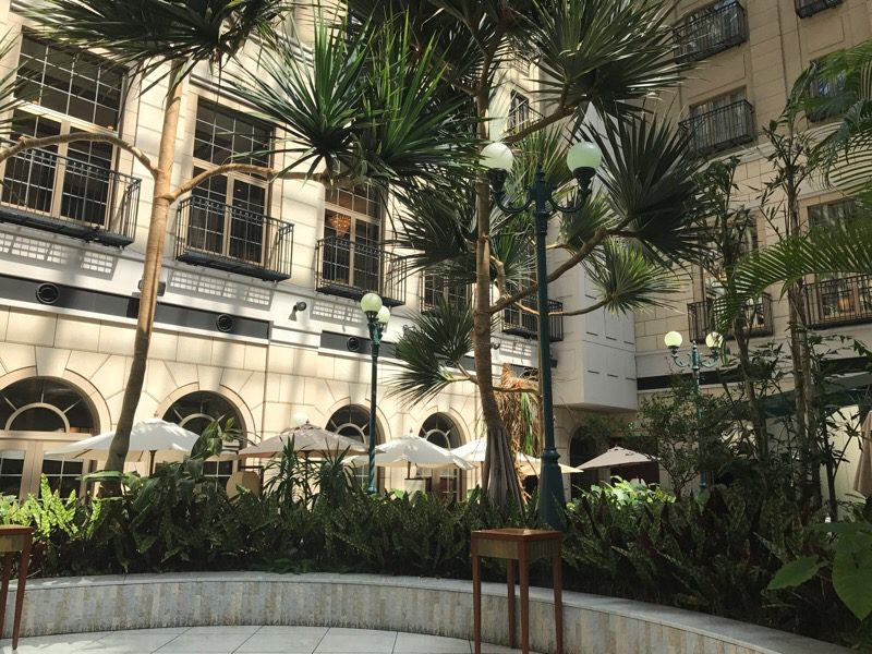茨城県 水戸 「水戸プラザホテル」:テラスで食べるモーニングは朝の光もたっぷりも一緒に