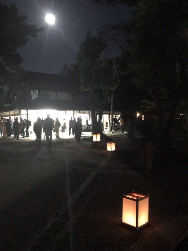 唐招提寺の観月会に行き、満月の夜にWish List100を書く:日記 2017/10/4